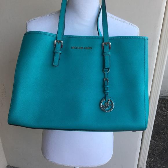 3abf2c97196b Michael Kors Bags | Turquoise Purse | Poshmark